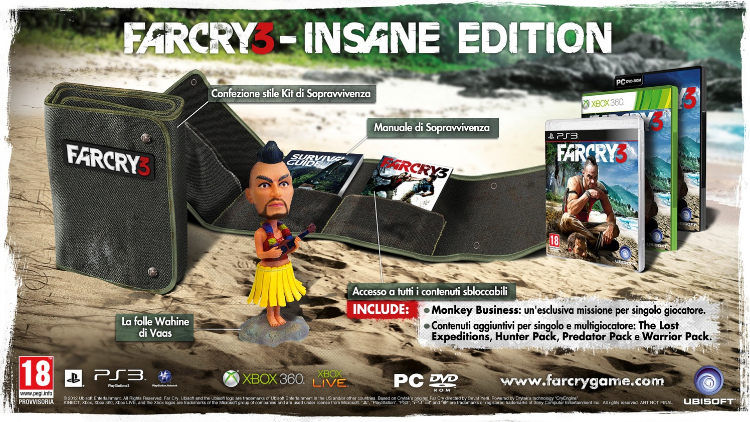 Ubisoft svela la Insane Edition di Far Cry 3