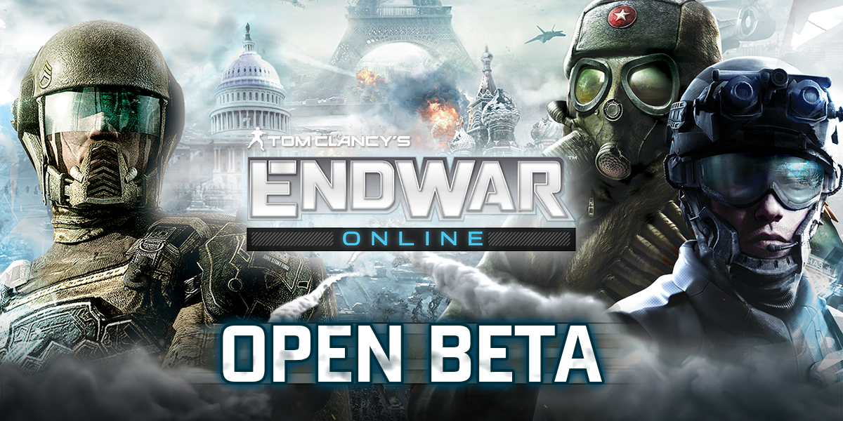 Tom Clancy's EndWar Online entra in open beta