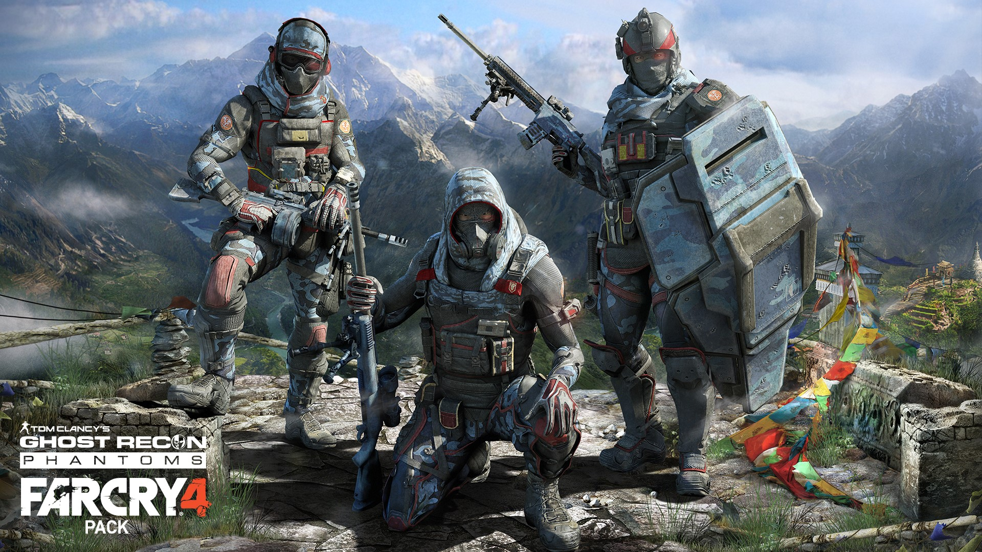 Tom Clancy's Ghost Recon Phantoms incontra Far Cry 4