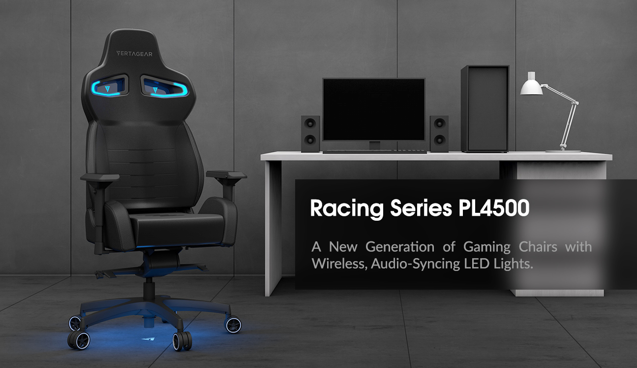 [CES 2018] Vertagear PL4500 la prima sedia da Gaming con LED RGB Wireless