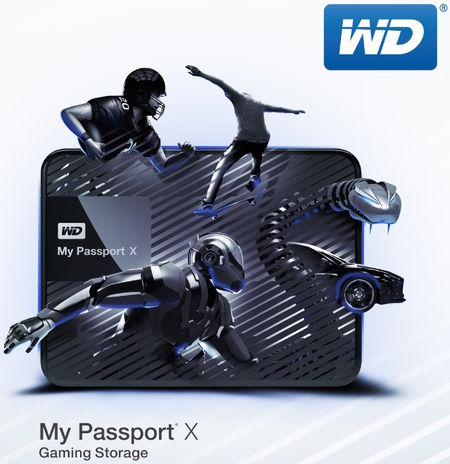 My Passport X di WD: 2TB di storage a disposizione dei gamer su Xbox One e PC