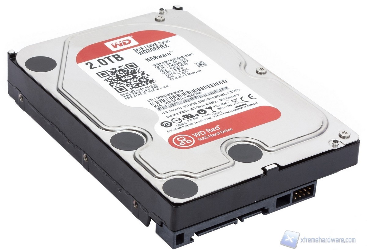 Western Digital RED: l'hard disk per Nas