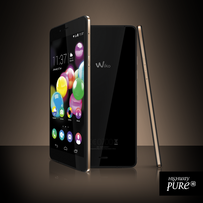 mwc 2015 wiko presenta l 39 highway pure. Black Bedroom Furniture Sets. Home Design Ideas