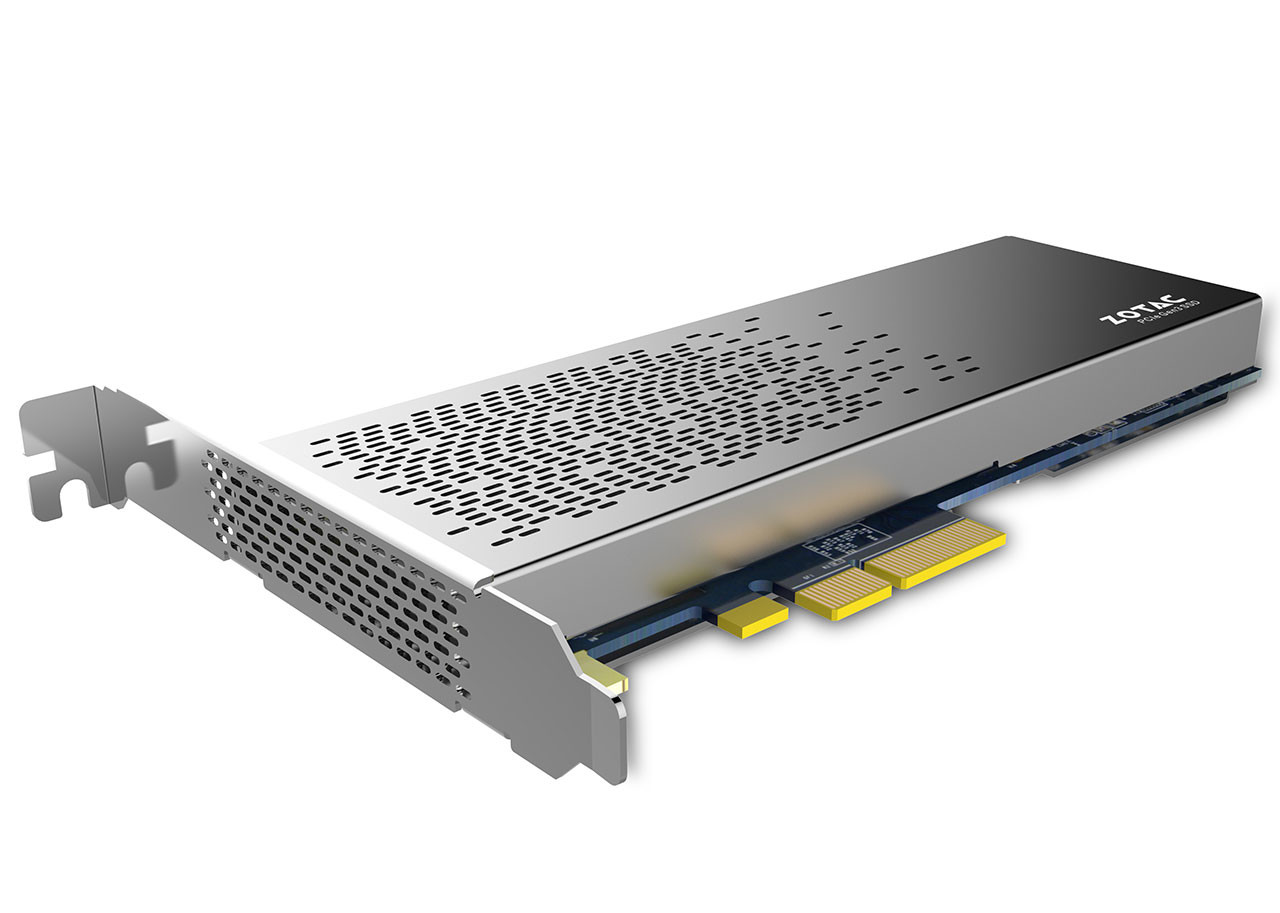 Zotac presenta l'SSD Sonix da 480GB con interfaccia PCI-E