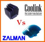 Zalman ZM-NBF47  Vs  Coolink Mainboard Silencer