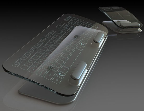 glass-keyboard-mouse