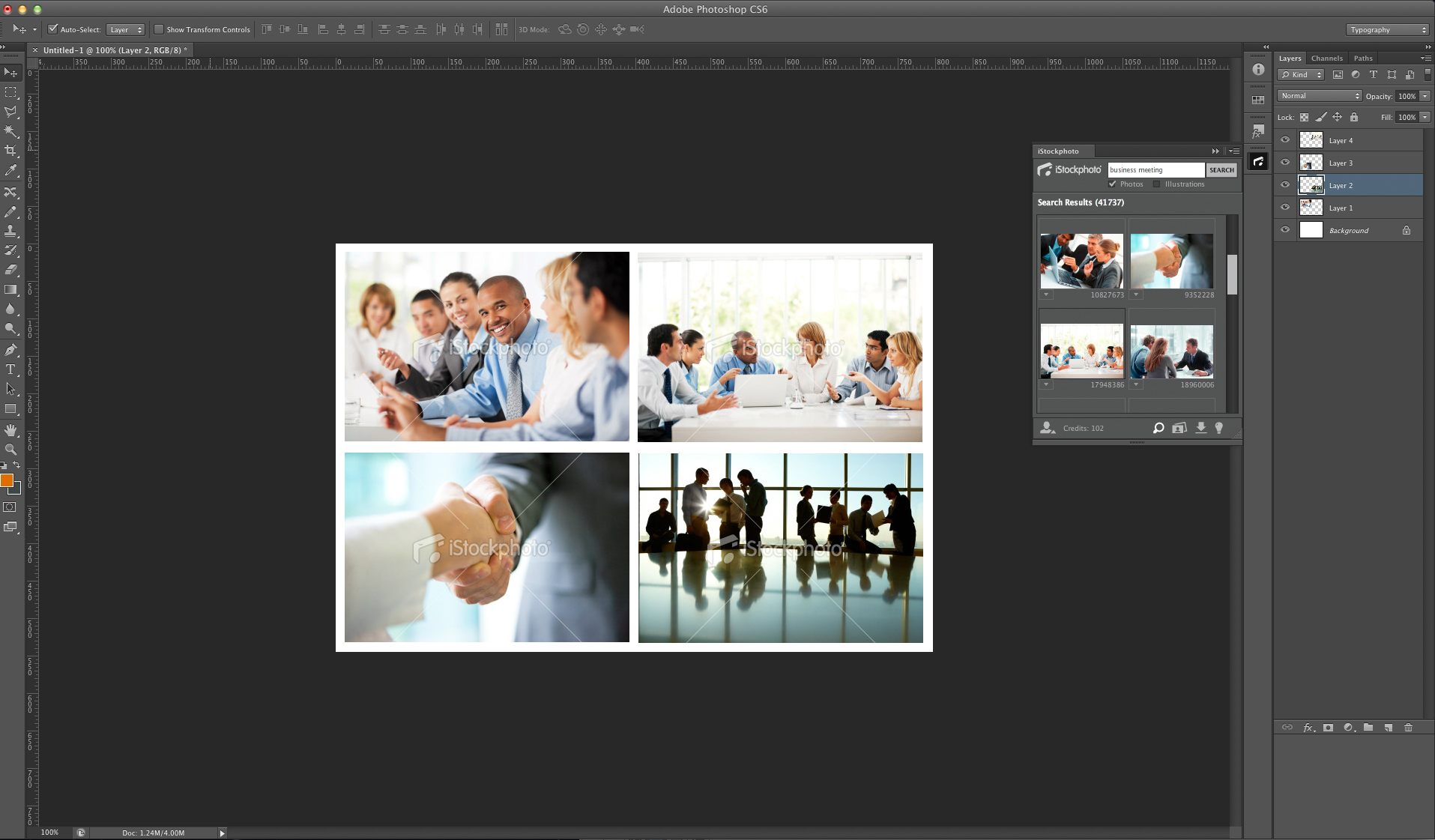 iStockphoto Adobe PlugIn search