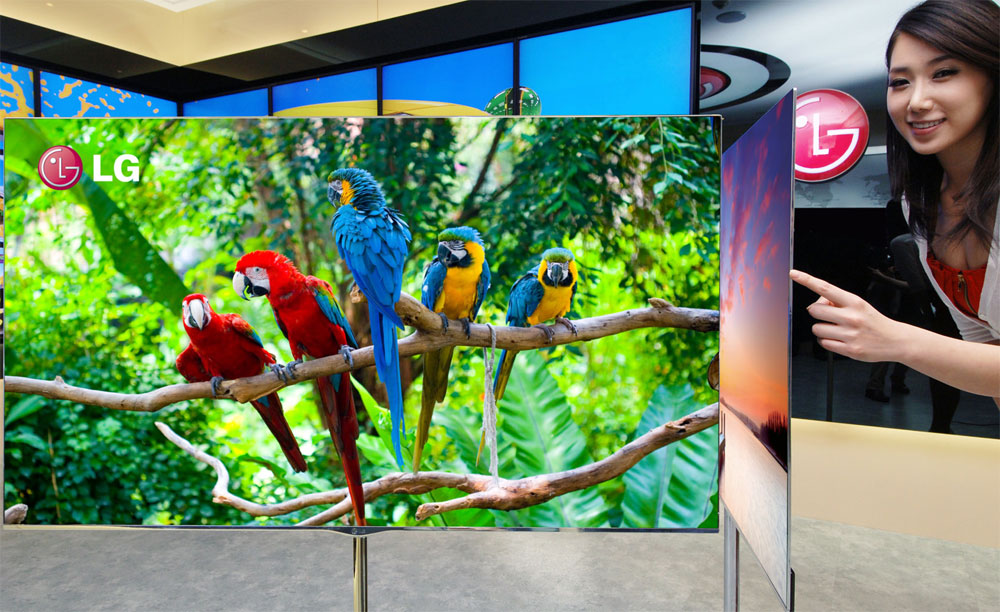 Per i TV OLED, LG Display investe 500 milioni di euro