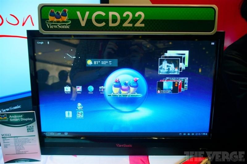 [Computex 2012] ViewSonic mostra il VCD22 Android Smart Display