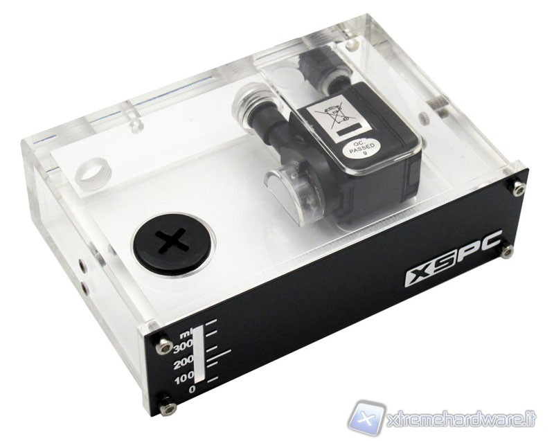 "XSPC X2O 200 Single 5,25"" Bay Reservoir Pump"
